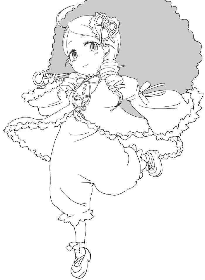 ローゼンメイデン金糸雀ちゃん
