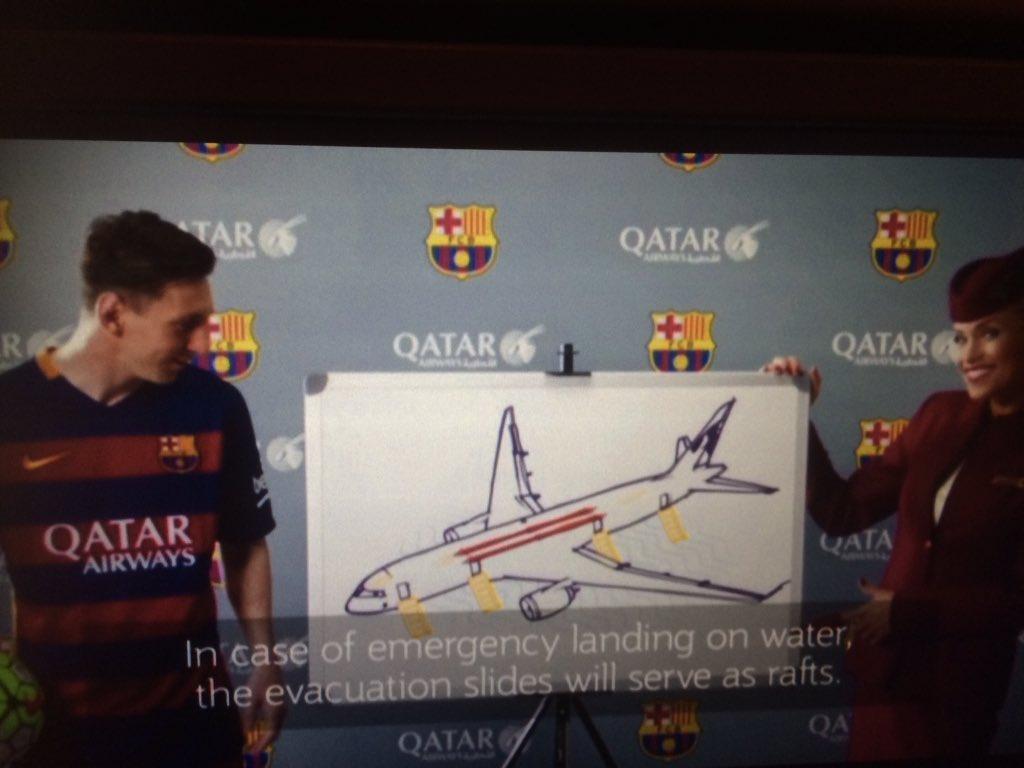 カタール航空のセーフティビデオがバルセロナ一色の内容でスゴイ!#カタール航空 #バルセロナ #浦和の調ちゃん