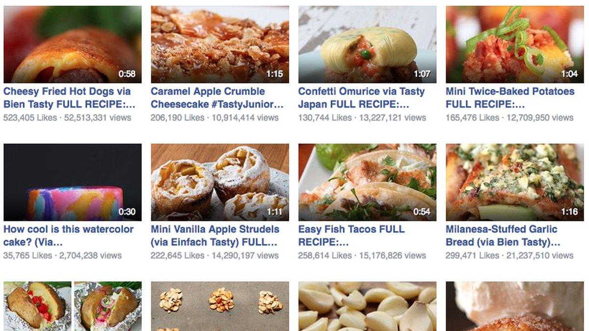 How buzzfeed turned tastys recipes into a viral video hit how buzzfeed turned tastys recipes into a viral video hit http forumfinder Image collections
