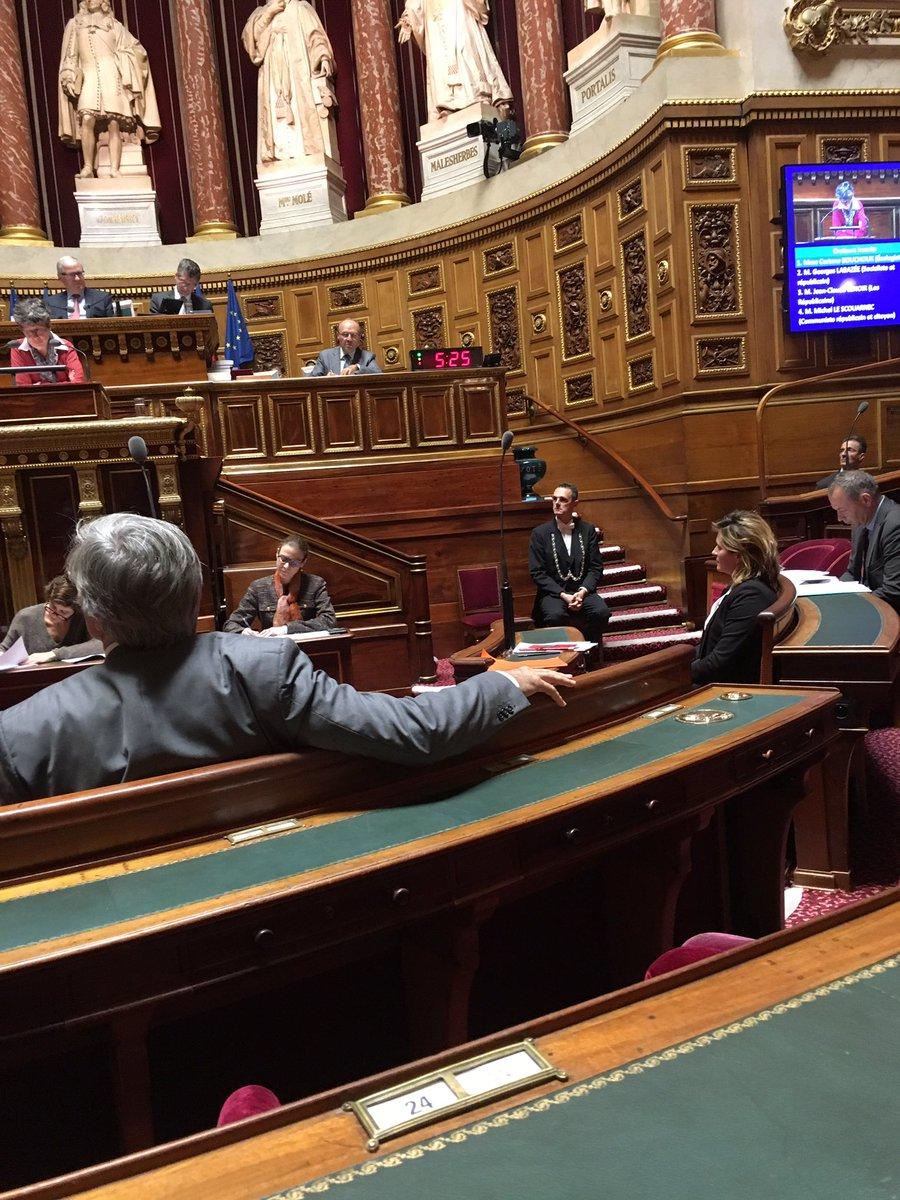 RT @senateur61: Bravo @ac_loisier pour cette intervention au banc de la commission