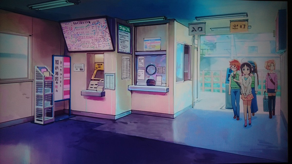 ステラのまほう 第3話で登場 本田珠輝の最寄り駅の聖地巡礼③西武秩父線 東吾野駅 #ステラのまほう現在は改札外側の窓口が