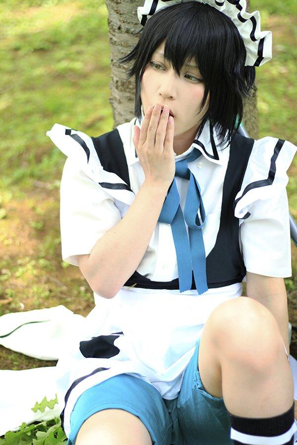 ぽやしみなさい〜😪(少年メイド/小宮千尋)P:chankiiii( )