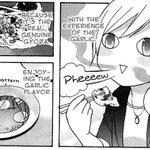 【漫画で英語📖】genuine=本物の🇨🇳😋これが本物の餃子だから。Because it's the real, gen