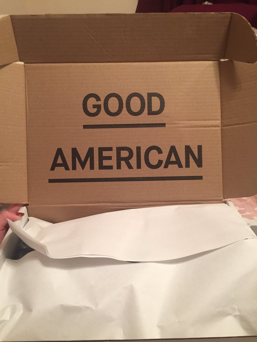 RT @BrooklynnMillik: They're already here!!!! ???????????? @khloekardashian @goodamerican #GoodAmerican https://t.co/gX1XjcN9G0