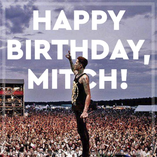 Happy birthday Mitch. Forever in our hearts. https://t.co/VV9MGcj96P