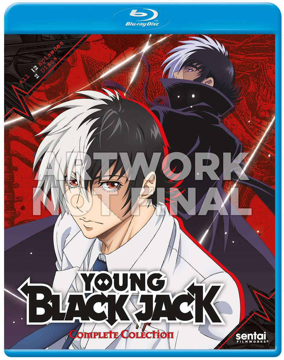 米Sentai Filmworks 2017/02 新作BDリスト・ヤング ブラック・ジャック・武装神姫・コメット・ルシ