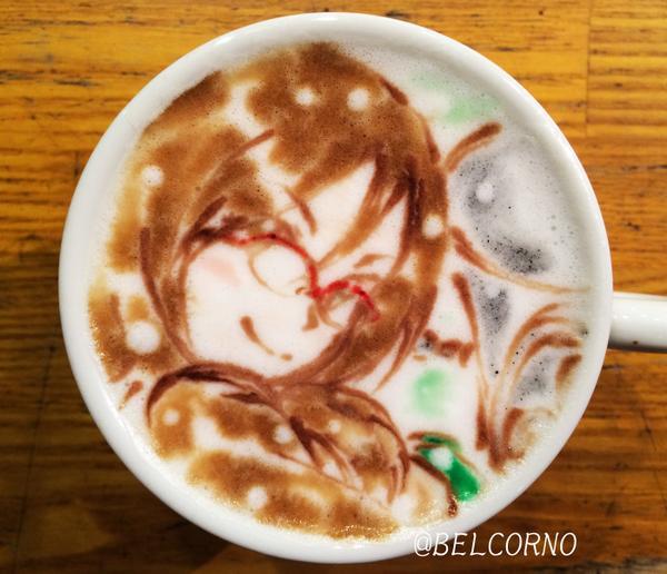 : ラテアート【田中あすか(Eup. 】@響け! ユーフォニアム  LatteArt【Hibike! Euphonium