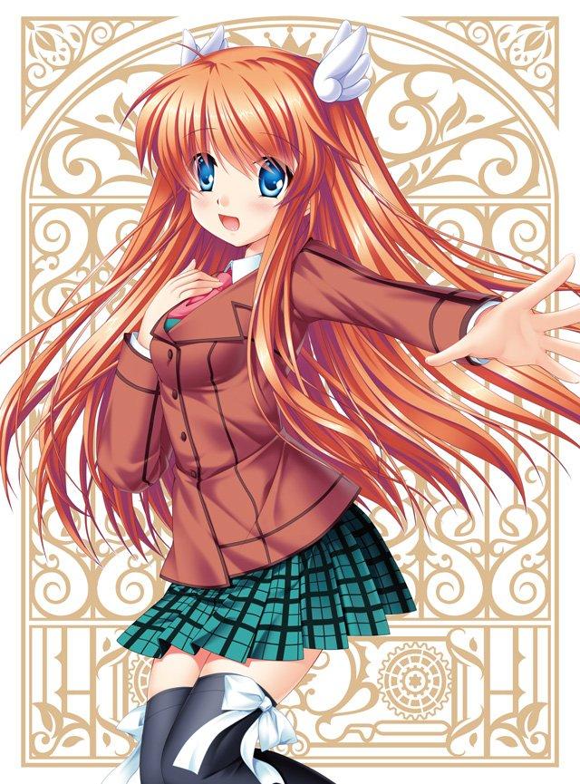 11月23日(水)発売、TVアニメ「Rewrite」Blu-ray&DVD第3巻のジャケットイラストを公開しまし