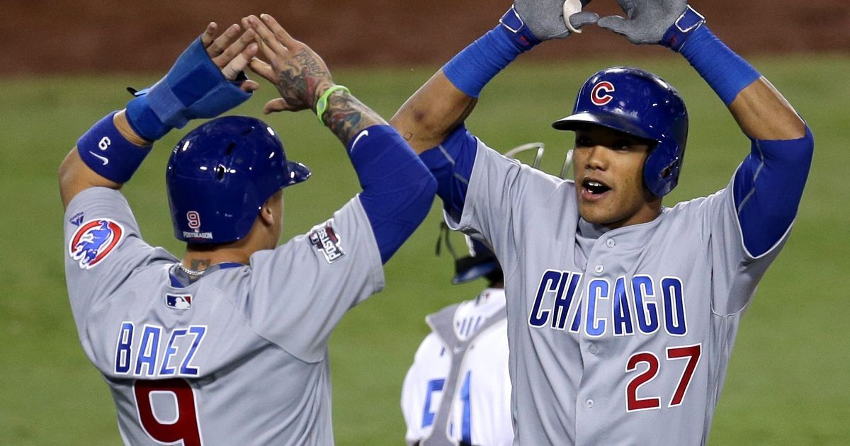Youngsters Addison Russell, Javier Baez have Cubs on brink of World Series