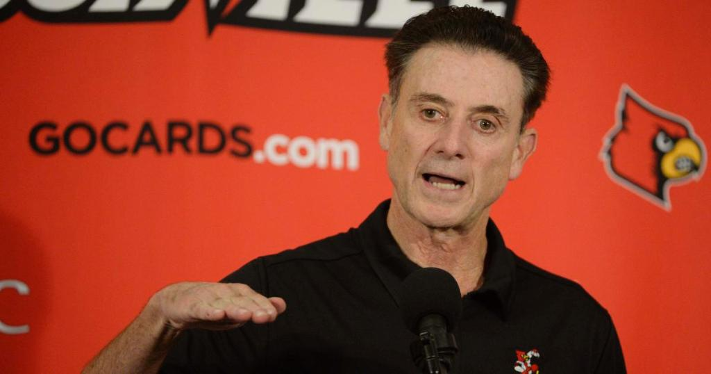 NCAA accuses Louisville coach of hiring strippers and