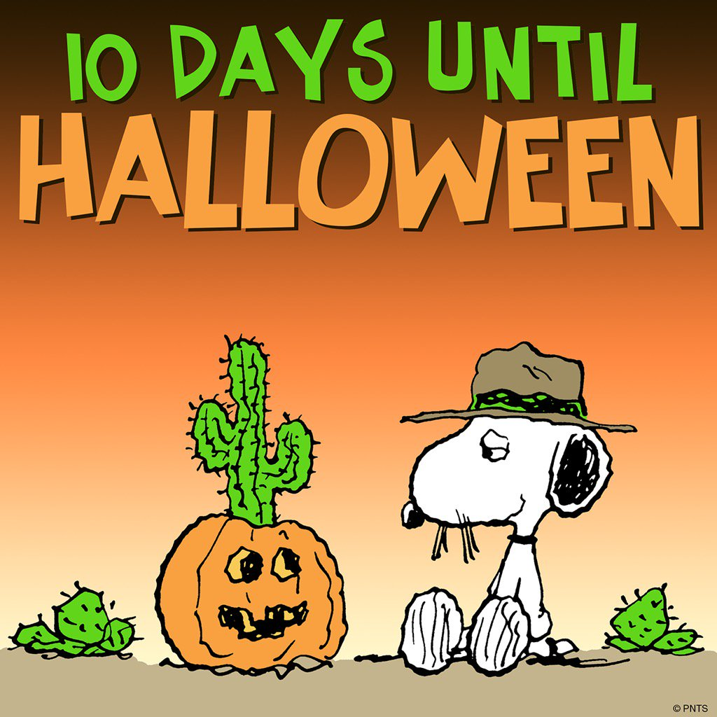 10 days until halloween! - scoopnest.com