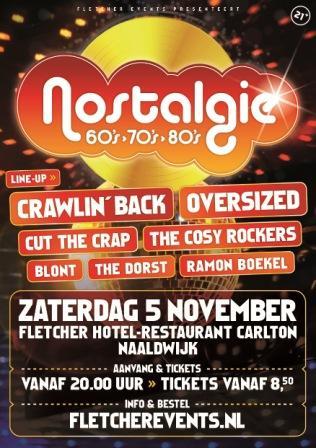ADV: Zes lokale coverbands tijdens Nostalgie 60's, 70's & 80's Naaldwijk https://t.co/CYtEUp7snT https://t.co/8LKp1fSrpt