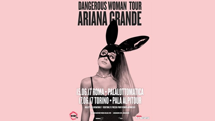 #DangerousWomanTour