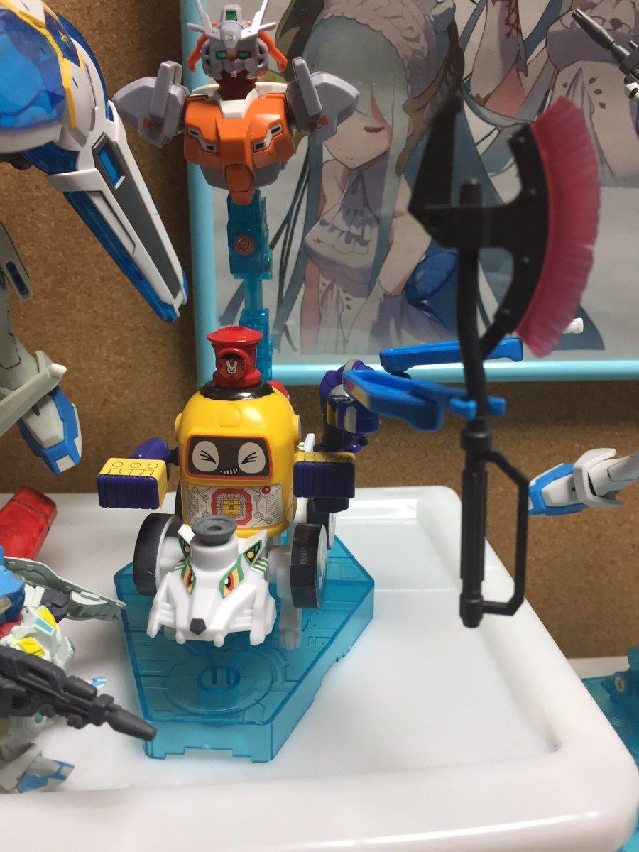 ヘボットにザクウォーリアのトマホーク持たせたらなんか凶悪な感じになってしまった