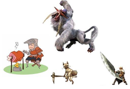 先ほど、勇者っぽい狩人さんを見かけたような…? #勇者ヨシヒコ