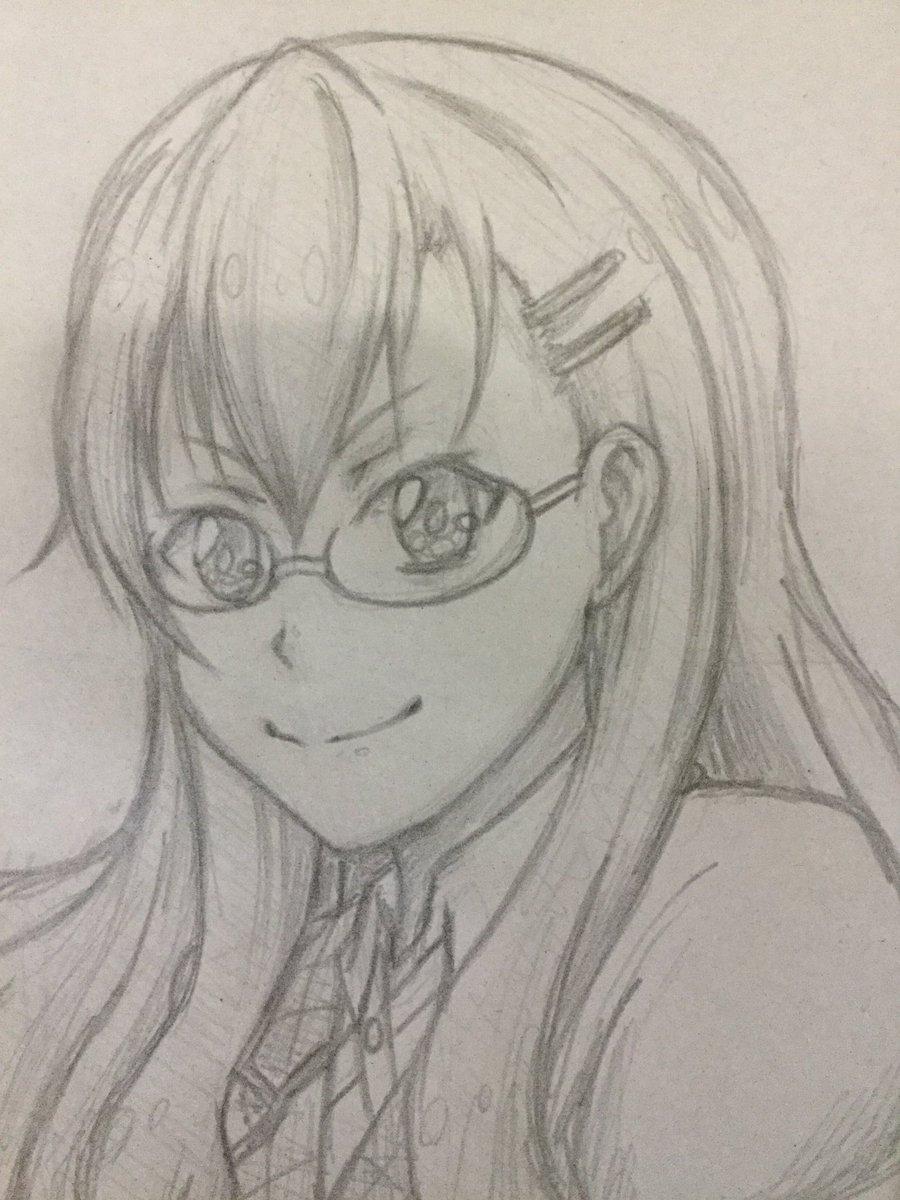 久しぶりのお絵描き。アイメモより、中田みはる。初描きだけど、描けたほう…かな?^_^