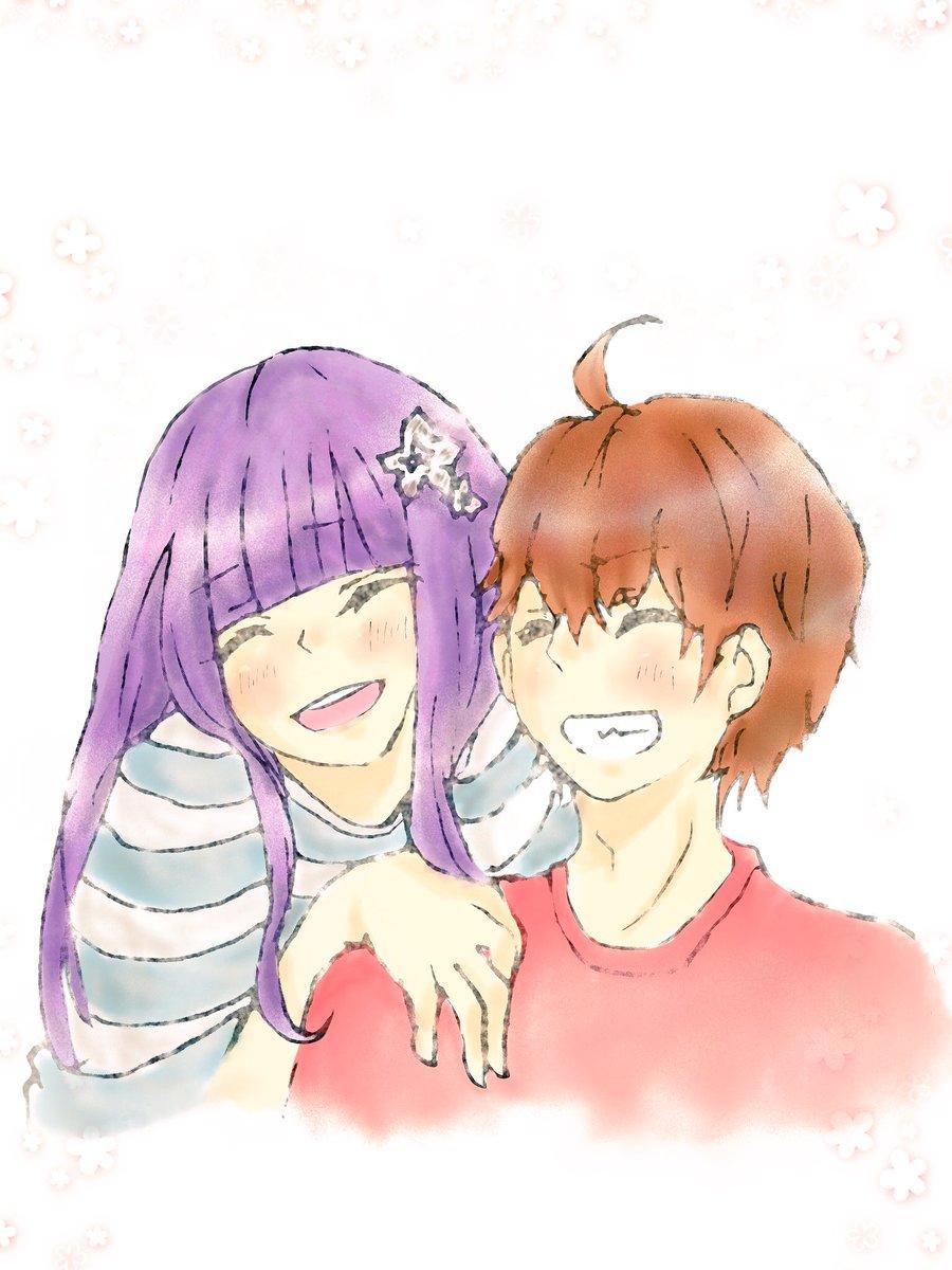 ろく紅は笑顔が1番!(*´ω`*)#双星の陰陽師 #双星