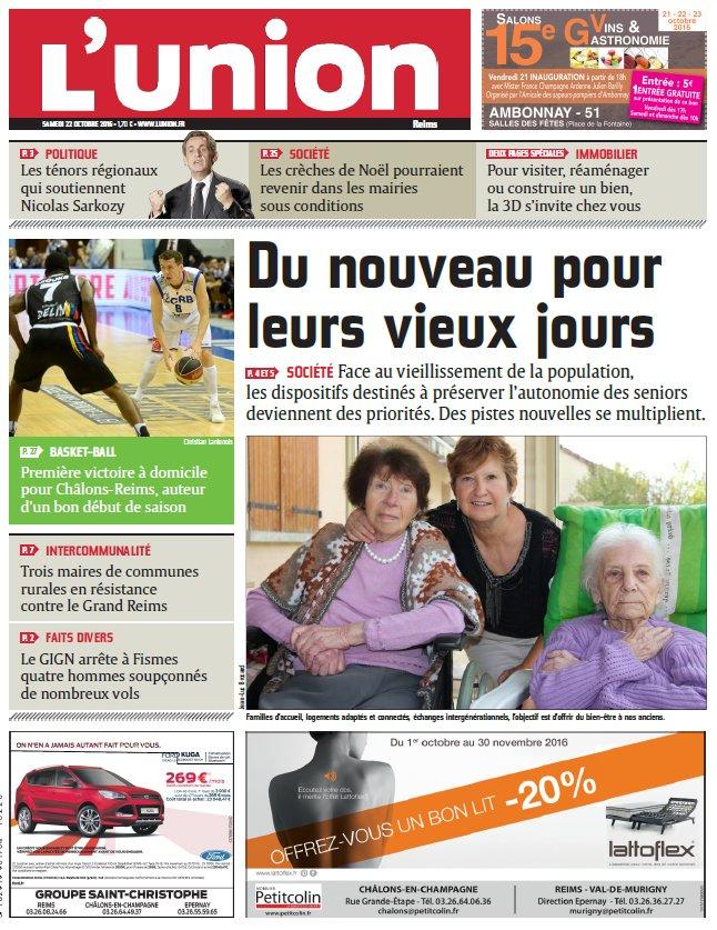 L Union De Reims : voici la une de l 39 union reims de ce samedi ~ Dailycaller-alerts.com Idées de Décoration