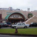 草加着!草加駅~松原団地駅周辺がレーカンの舞台だそうで(*´∀`)先ずは八幡神社、ご縁がありますように♪