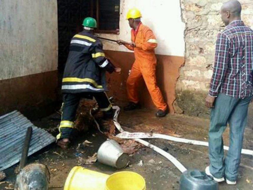 Msambweni secondary school loses dormitory in morning inferno