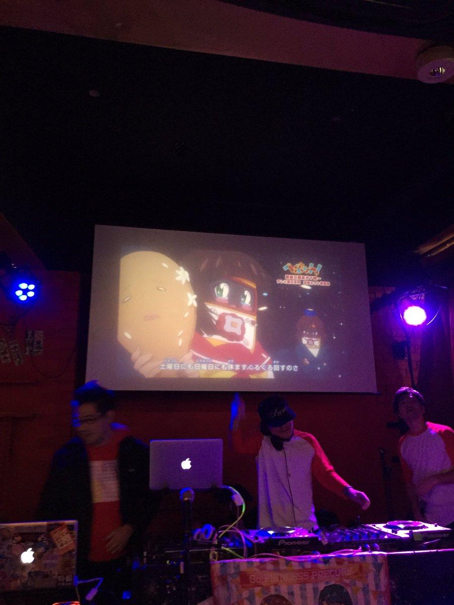 ニチアサナイトで初めてヘボット!が流れだぞーッ!!本当にフロアの爆発がヤバかった!!  #nichiasa354