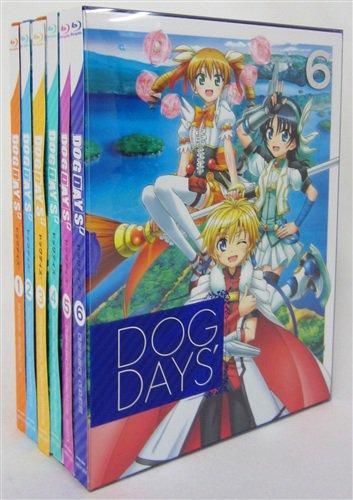 【らしんばん通販/入荷情報】『DOG DAYS' 完全生産限定版 全6巻 セット 』が入荷!!カワイイ犬耳美少女がいっぱ