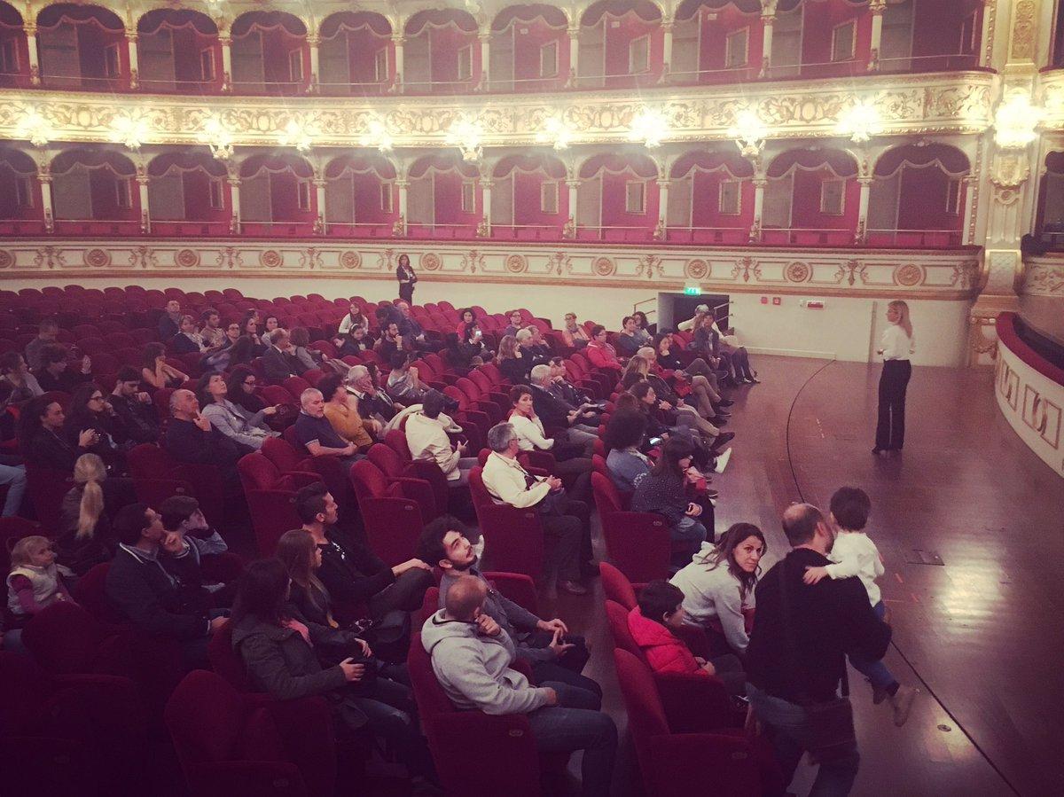 #TeatriAperti