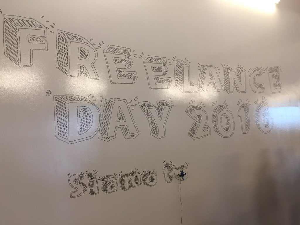 #freelanceday