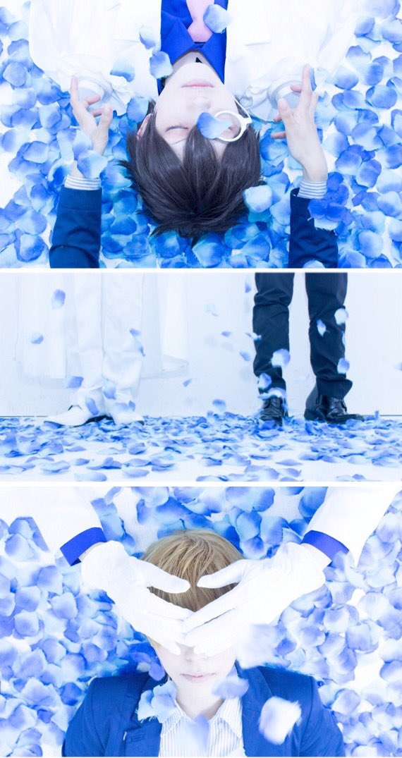 @13tisk: 【コス / DC and まじっく快斗】It is impossibility.怪盗キッド / てぃあ