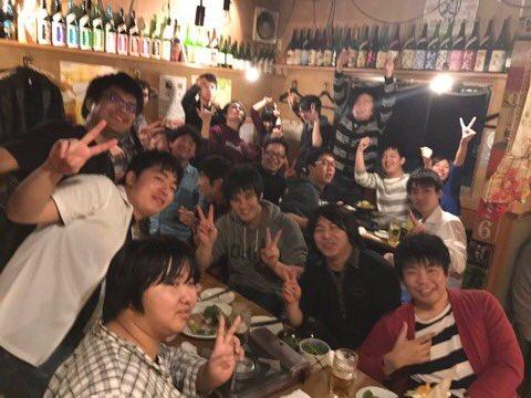 元ガンスト勢のちゃんぬさんが経営するお店に来ました。愛知勢のみんなも集まってくれて盛り上がってます!また名古屋へ来たとき