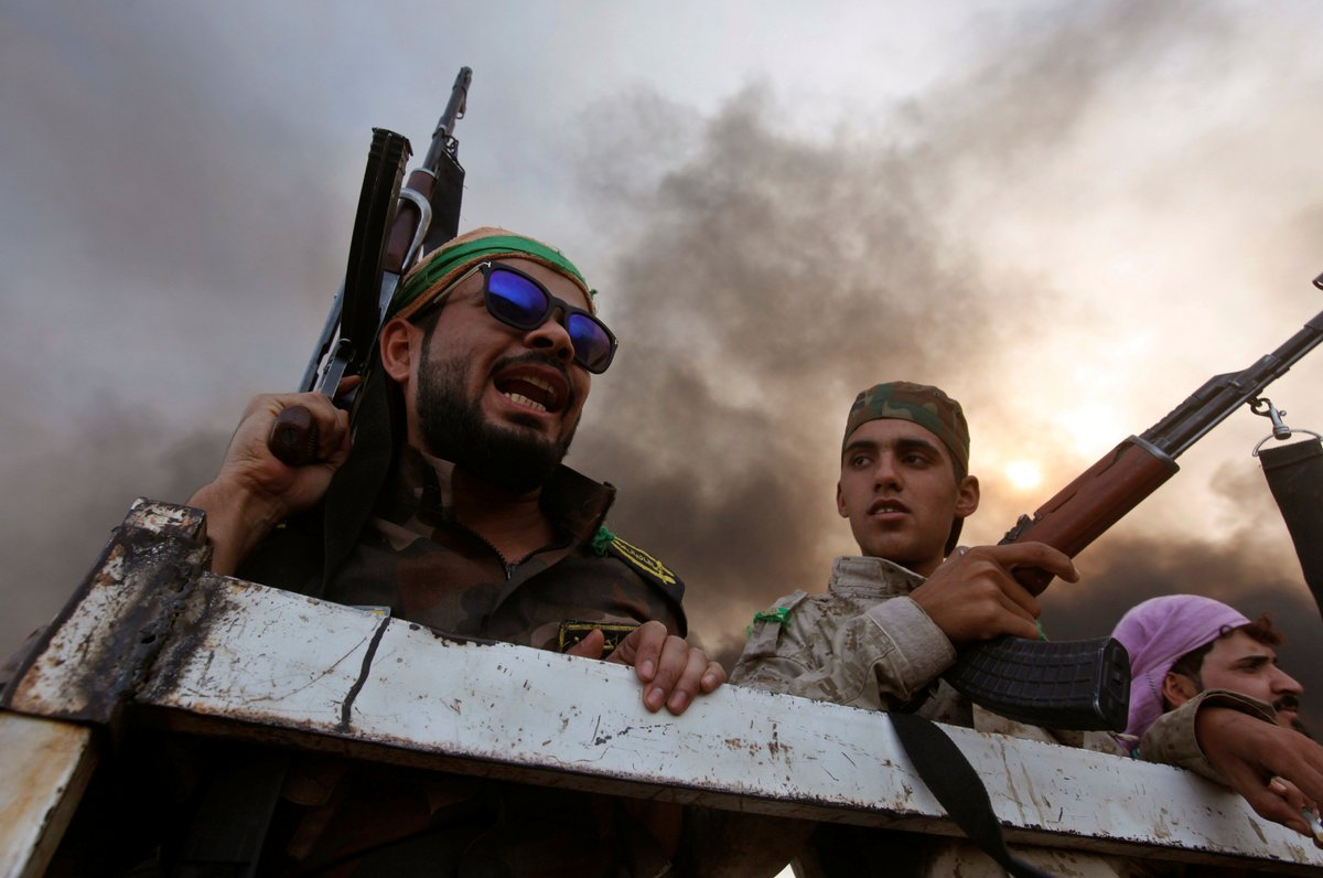 Iraqi forces have retaken a Christian region outside of Mosul from the Islamic State