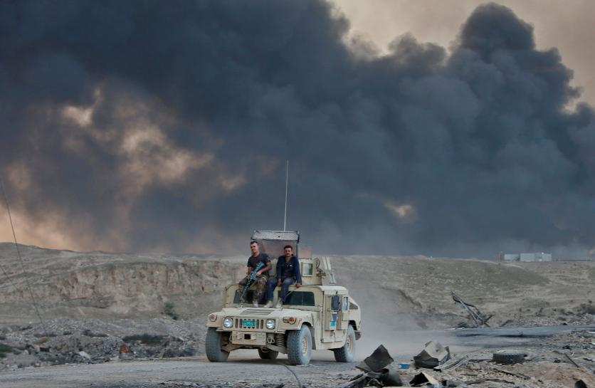 Iraqi army drives Islamic State from Christian region near Mosul