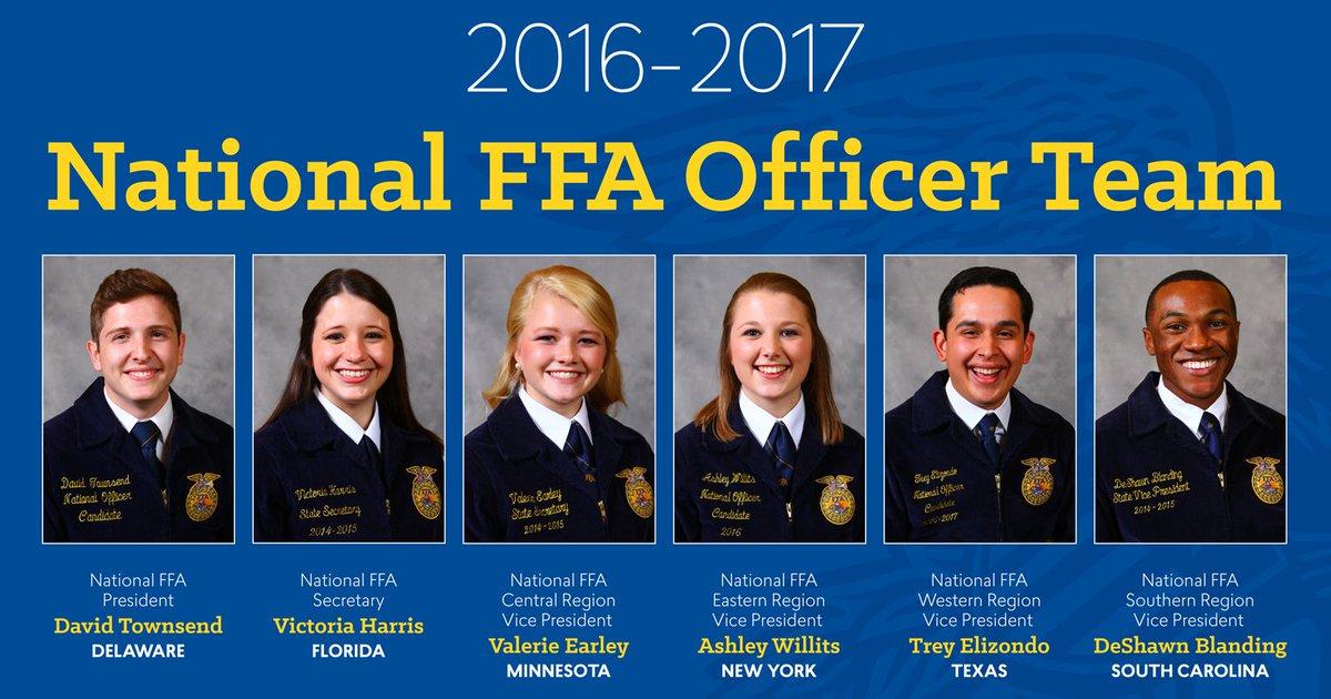 Announcing the 2016-17 National FFA Officer Team! #TransformFFA https://t.co/h880pZ9Sp0