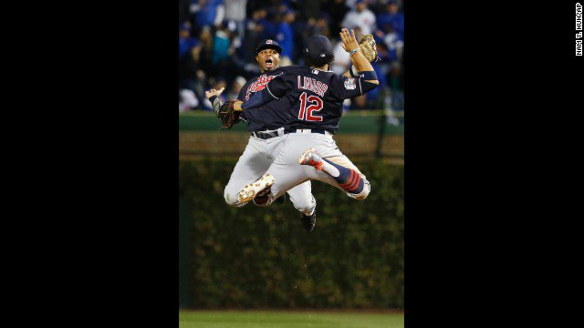Indians beat Cubs 7-2 in Game 4 of World Series.