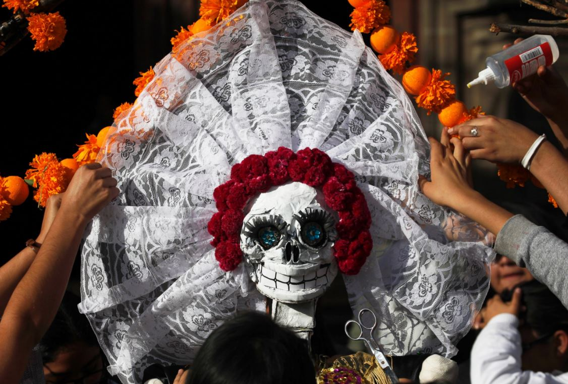 Halloween, zombies, movies changing Mexico's Day of the Dead