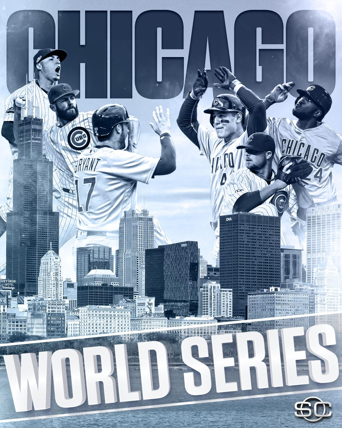 CHICAGO IS WORLD SERIES BOUND!  Cubs shut out Dodgers in Game 6 & advance to 1st World Series since 1945. #FlyTheW https://t.co/eQL7sWWbBD