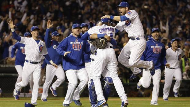 Chicago Cubs earn first World Series berth since 1945 From @Globe_Sports