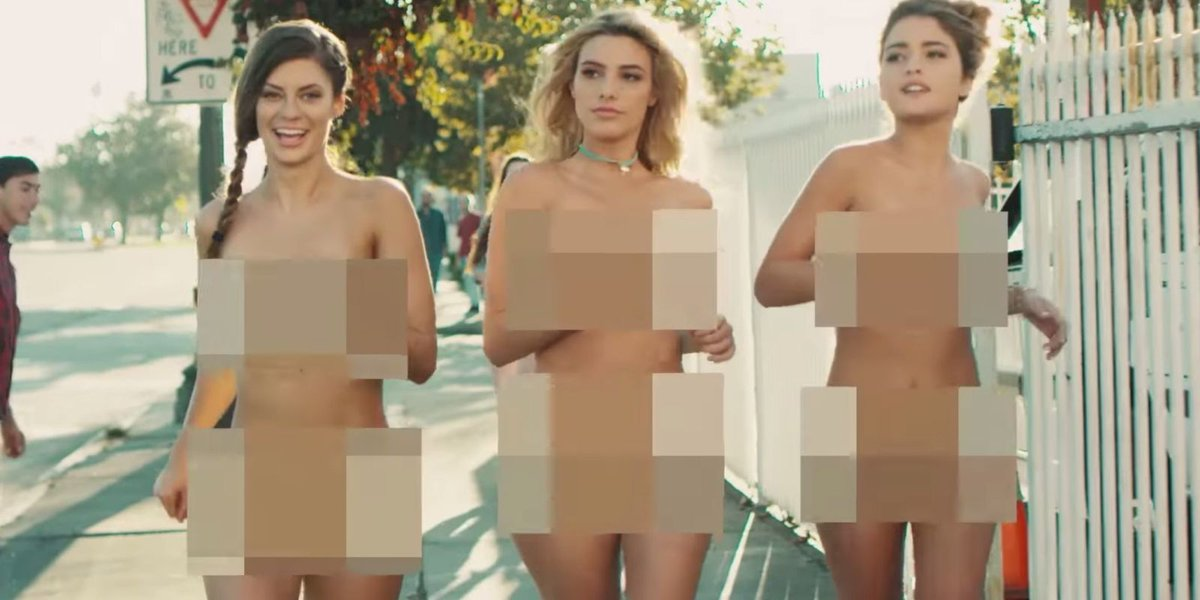 Nude art model female