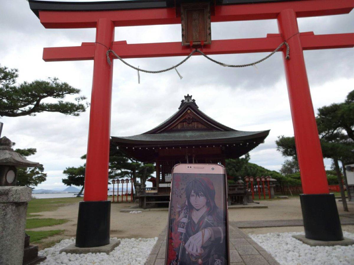 念願の!!!!!!唐崎神社。・゚・(*ノД`*)・゚・。しかも「曇天に笑う」みたいな曇天☁