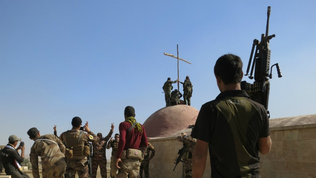 Video: Iraqi troops liberate Christian town of Bartella