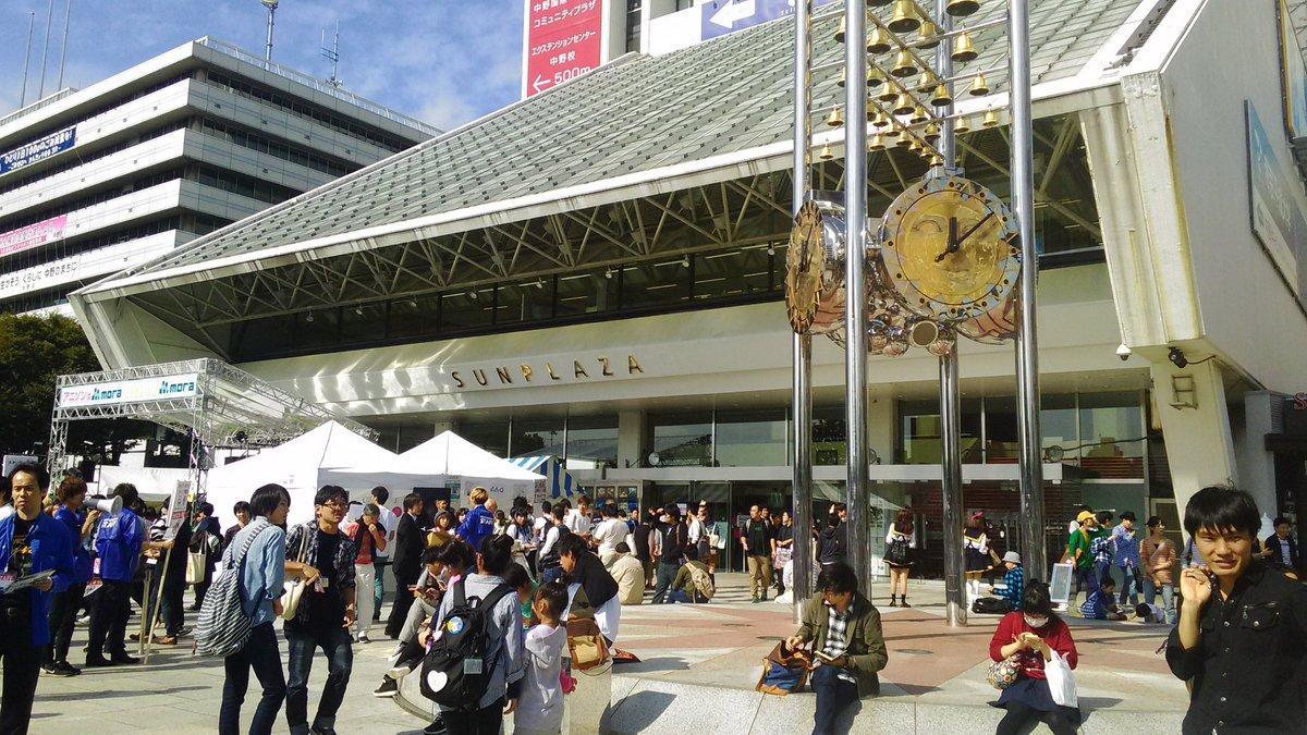 中野アニソン文化祭~中野アニソンフェス~ @中野サンプラザ前特設ステージ (午前の部) 終了  スペシャルゲストが大島は