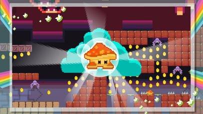 Cutest Mushroom Go : Super Pixel Endless Adventure