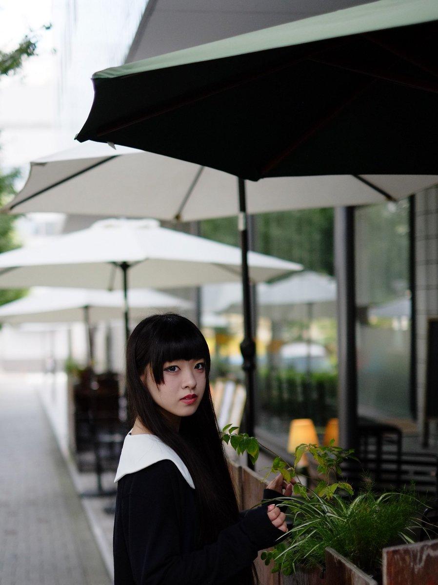 「魔女の宅急便のイメージで」1とても不思議な美少女です。#蛇喰零さん#裏渋谷