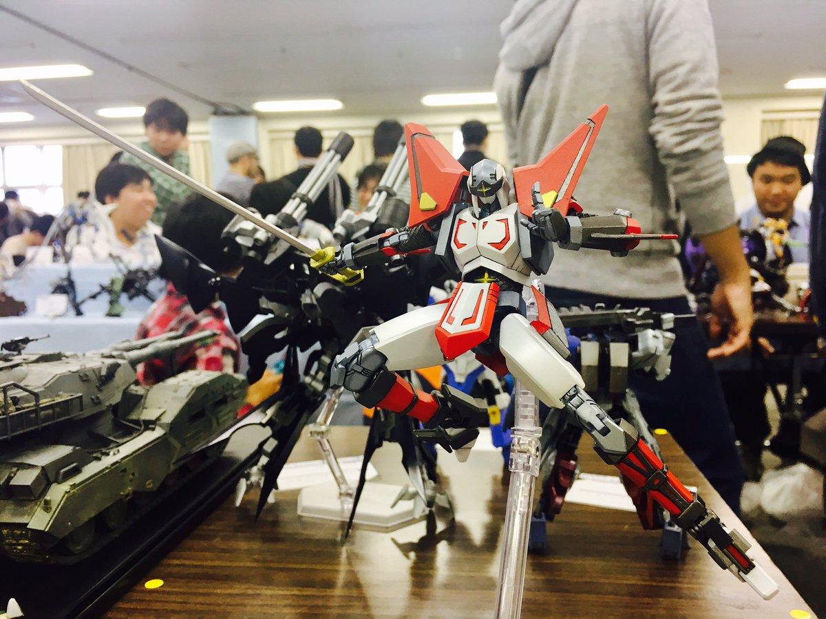 浅草橋東商センター模型展示会「CPM展示会」にやってまいりました!Fan  さんの飛影がやべえええ\\\\٩( 'ω'