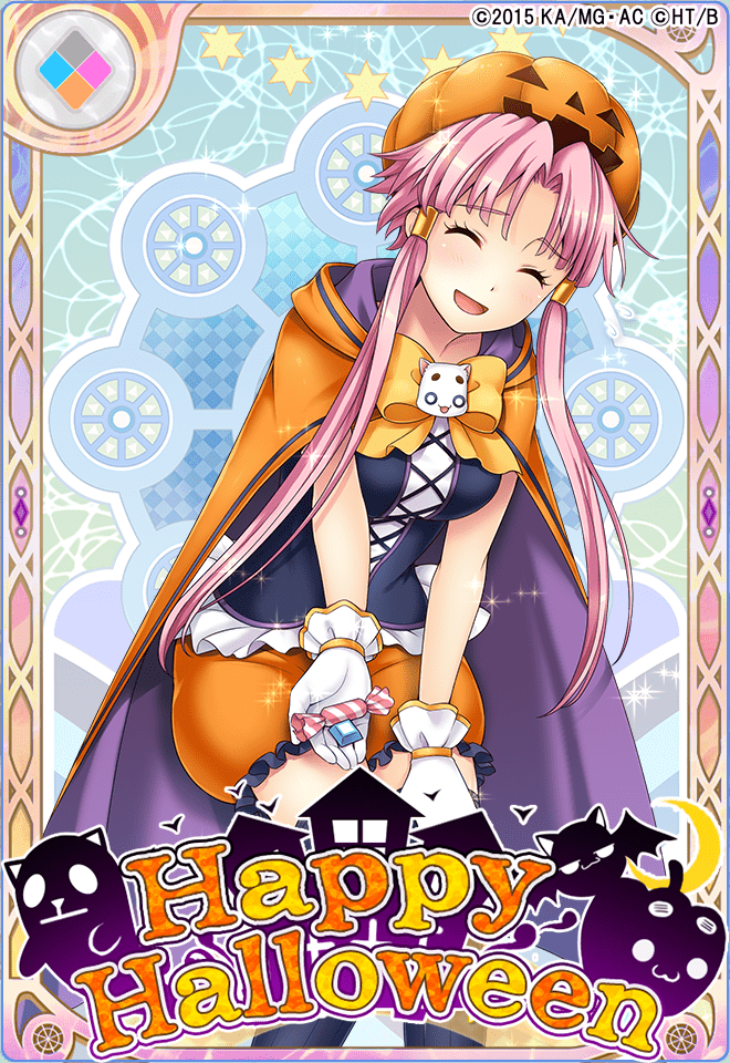 【イベントでGet】SR 【Halloween Monsters】灯里カボチャのクイーンモチーフの仮装をした灯里ちゃん!