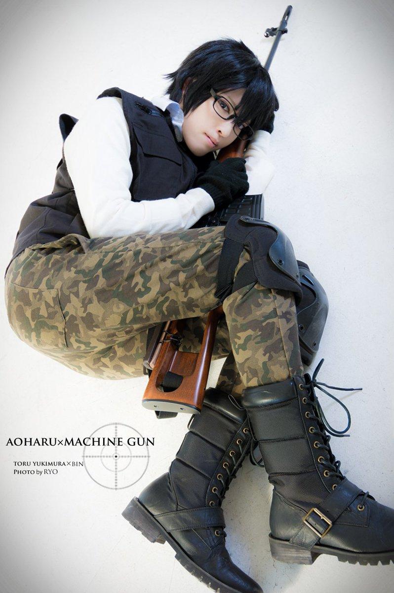 【19】*青春×機関銃*10巻表紙っぽいやつ…いやあの体勢は無理だよゆっきー…w雪村透:瓶P:りょうたん