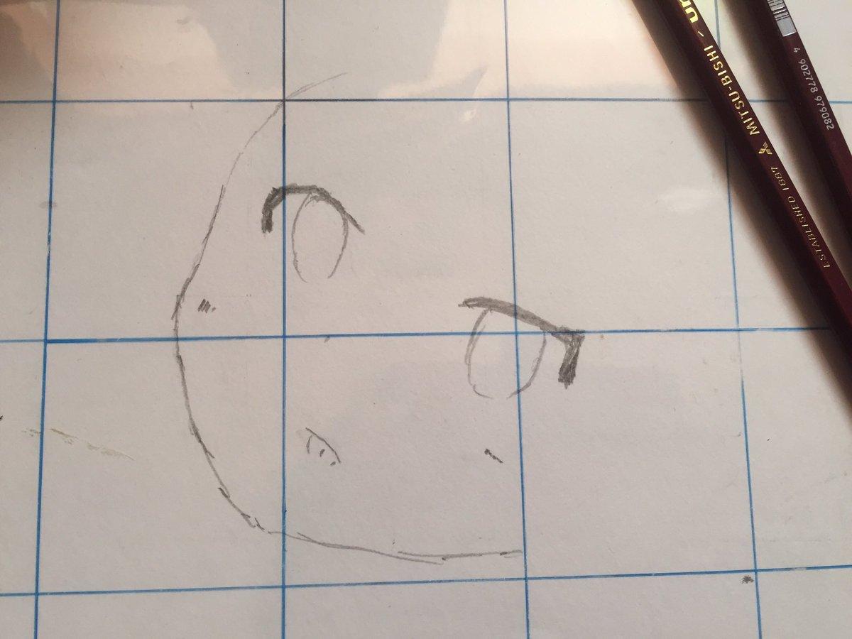 さぁ〜ロリキャラ描くよ〜!#異能バトルは日常系のなかで#九鬼円 #イラスト #アナログ絵  #鉛筆 #ロリ #ぺろぺろ