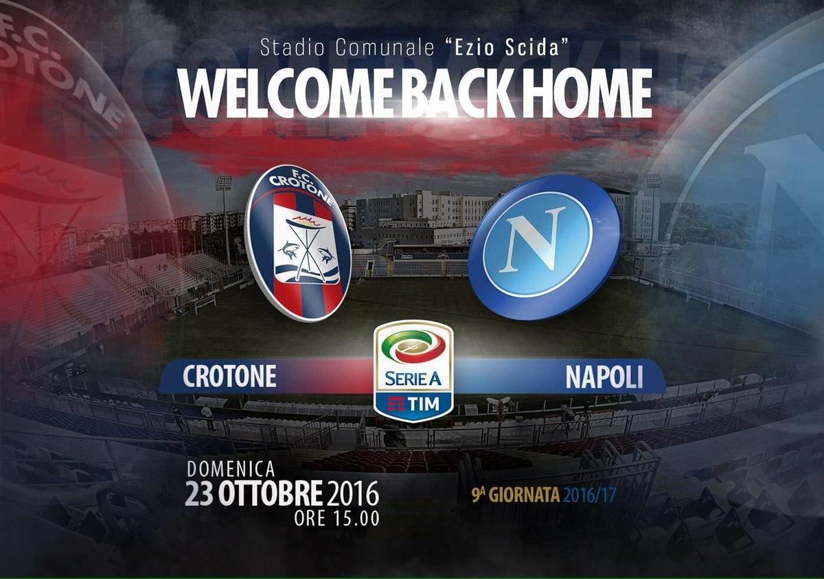 #CrotoneNapoli