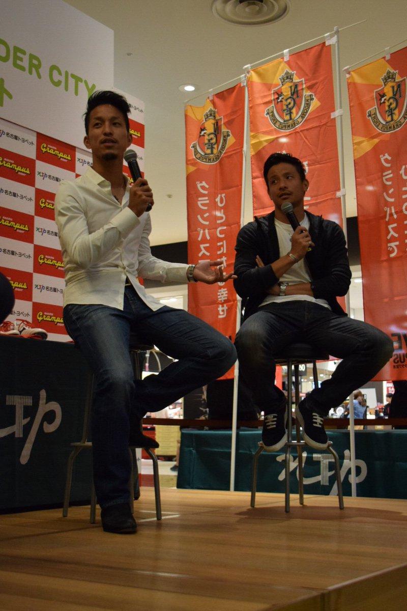 【トークショーから①】前半はプライベートな話に。2人は買い物や映画に行くほど仲良しだったそうですが、昨年、1学年下の松田