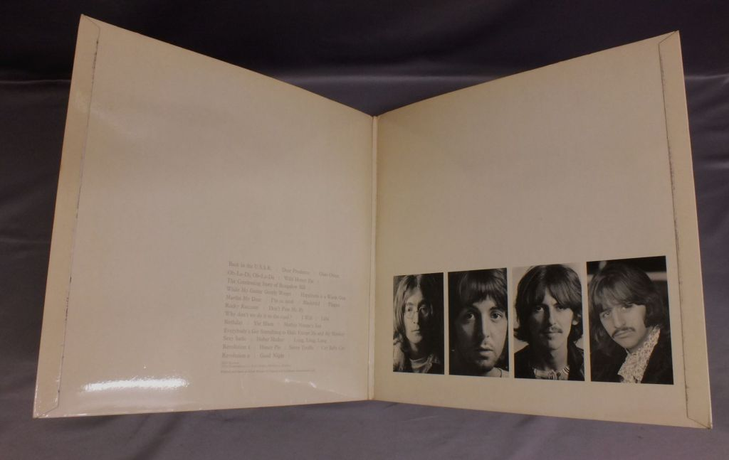 WHITE ALBUM stereo、ERIC CLAPTON、DARK SIDEOF THE MOON などの貴重盤入